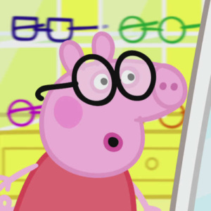 Peppa Pig Hanson Opticians